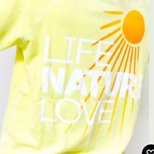 FreeCity Supervintage Life Nature Love sweatshirt